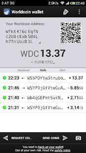 Worldcoin Wallet- screenshot thumbnail