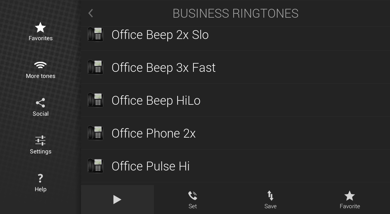 Business Ringtones - screenshot