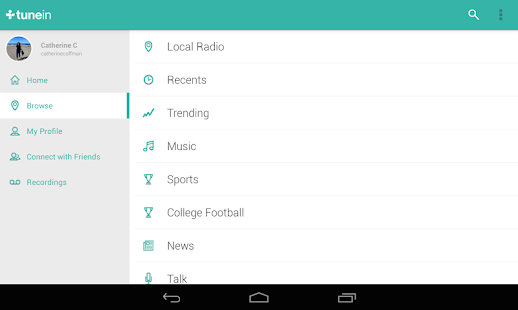 TuneIn Radio Pro - Live Radio Screenshot 27