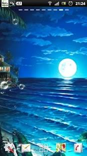 noční pláž lwp - náhled