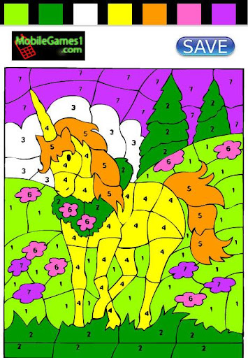 【免費休閒App】Unicorn Coloring By Numbers-APP點子