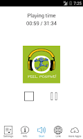 Screenshot of Feel Positive! HYPNOSIS