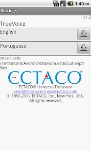 Eng - Portuguese Translator- screenshot thumbnail