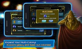 Screenshot of Galaxy War - The New Colony