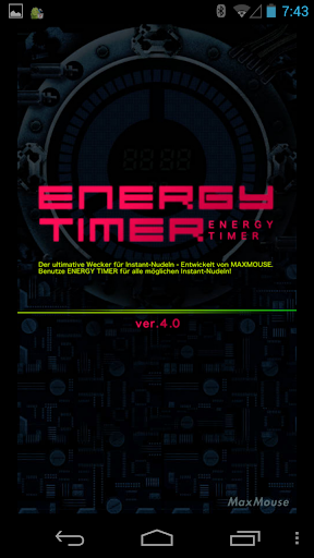 Energy Timer(German/English) 4.0.1 Windows u7528 1