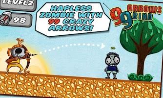 Screenshot of 99 Arrows: Bird