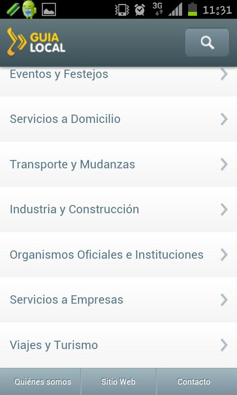 GuiaLocal- screenshot