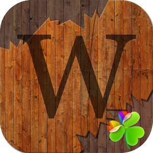 WoodPaper GO LauncherEX Theme