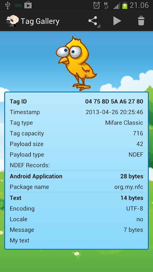 NFC Tag Cloner - screenshot