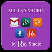 MIUIV5 MICRO APEX/NOVA/GO/ADW.