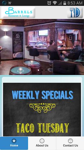 Barrels Restaurant Lounge