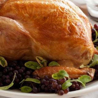 Bay and Lemon Brined Turkey Recipe