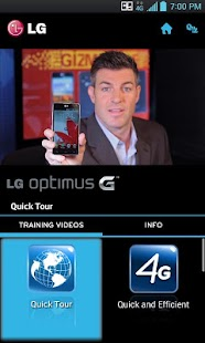 LG Optimus G Sprint Training - screenshot thumbnail