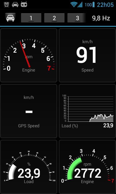 OBD Dashboard (Free) - screenshot