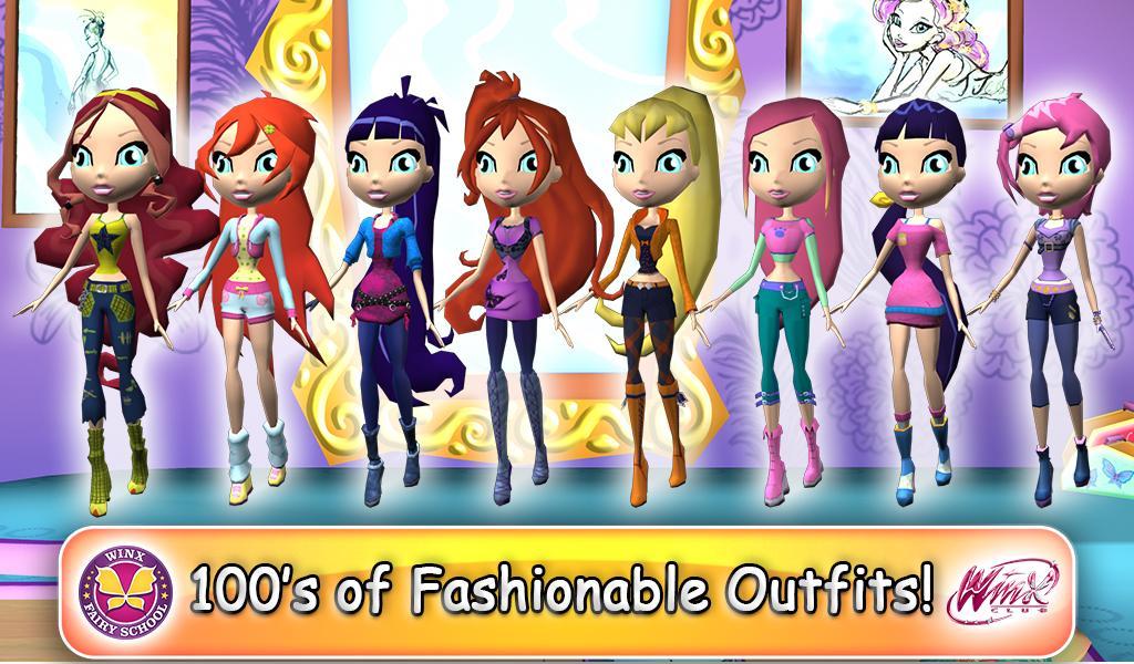 Winx Fairy School Lite screenshot 10