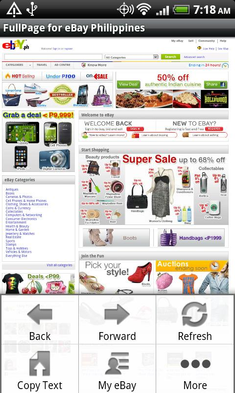 FullPage for ebay(Philippines)- screenshot