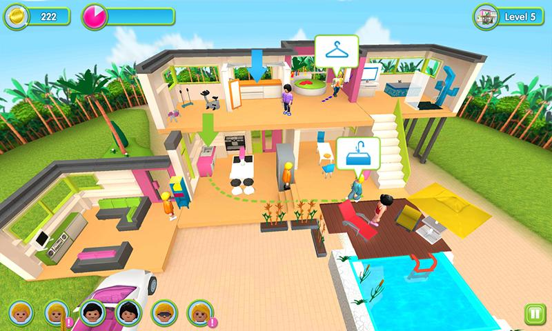 La maison moderne playmobil applications android sur Jeux de decoration la maison