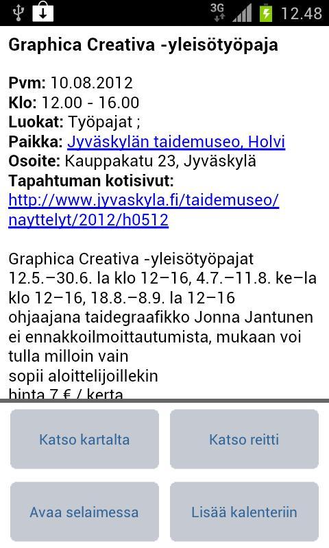 Jyväskylä - Mobiilikunta- screenshot