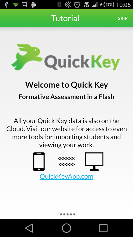 Quick Key - Mobile Grading App- screenshot