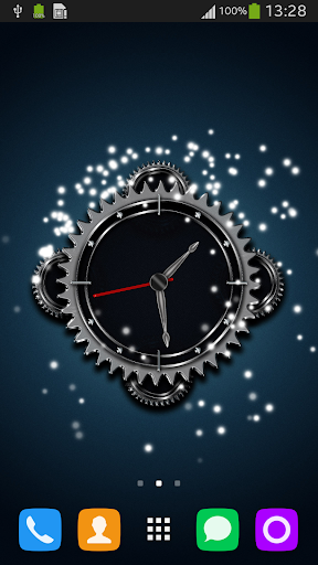 Clock Gears Live Wallpaper