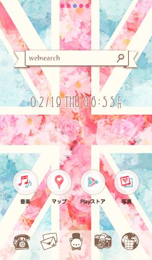可愛換裝桌布★British Flower