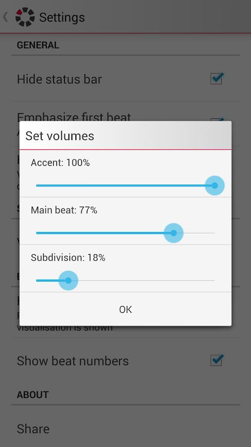 7Metronome: Pro Metronome- screenshot