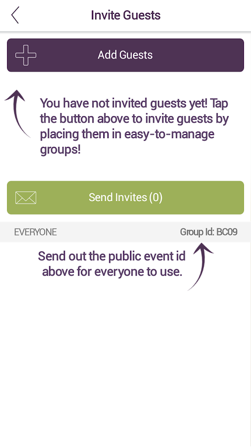 EventAssist- screenshot