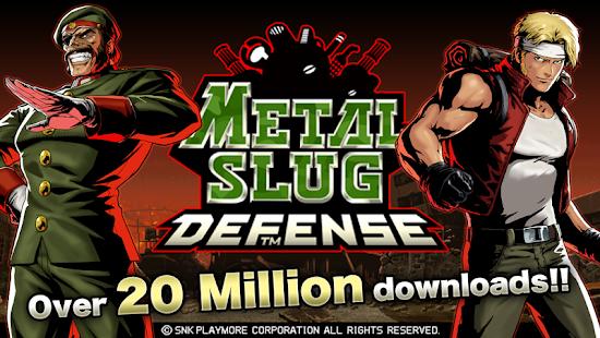 METAL SLUG DEFENSE- screenshot thumbnail