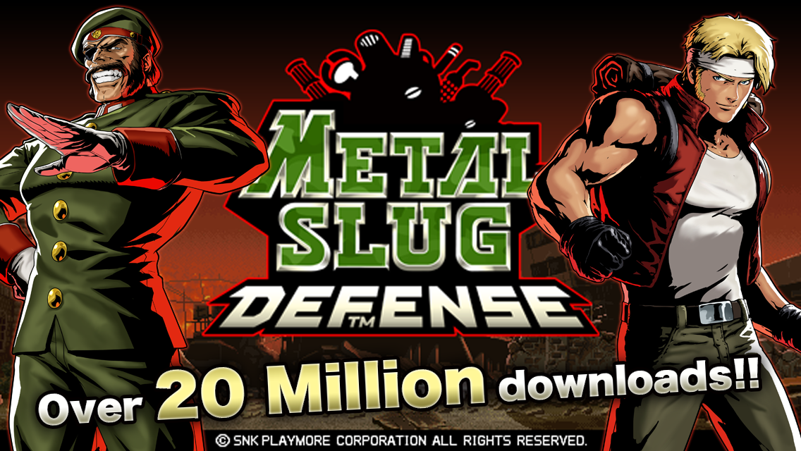 METAL SLUG DEFENSE- screenshot