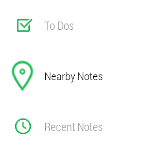 Evernote for Android Wear: miniatura de captura de pantalla