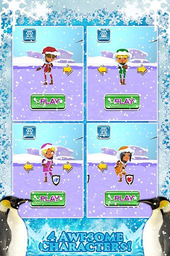 3D Frozen Girly Run Game FREE
