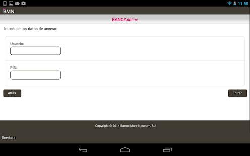 BMN Banca Online - screenshot thumbnail