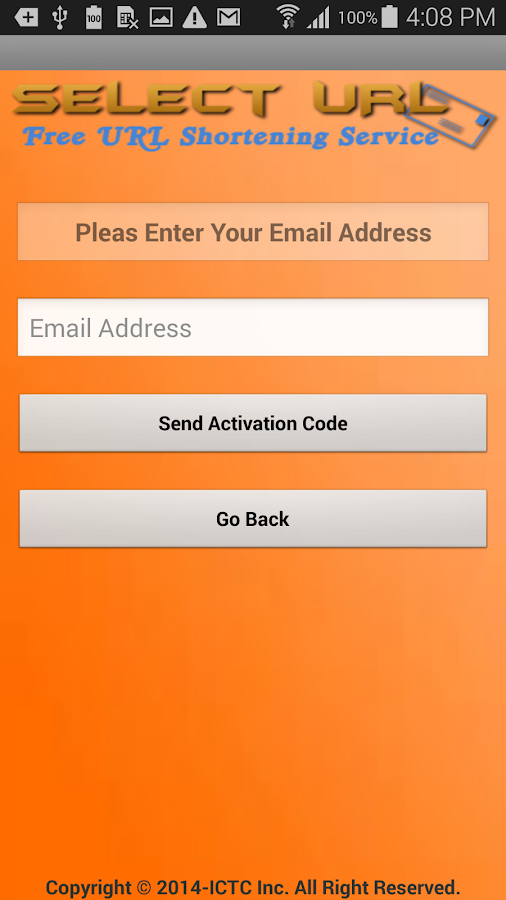 Screenshots of Select URL for iPhone