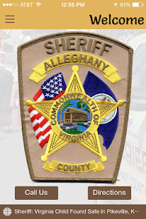 Alleghany Co. Sheriff's Office- screenshot thumbnail