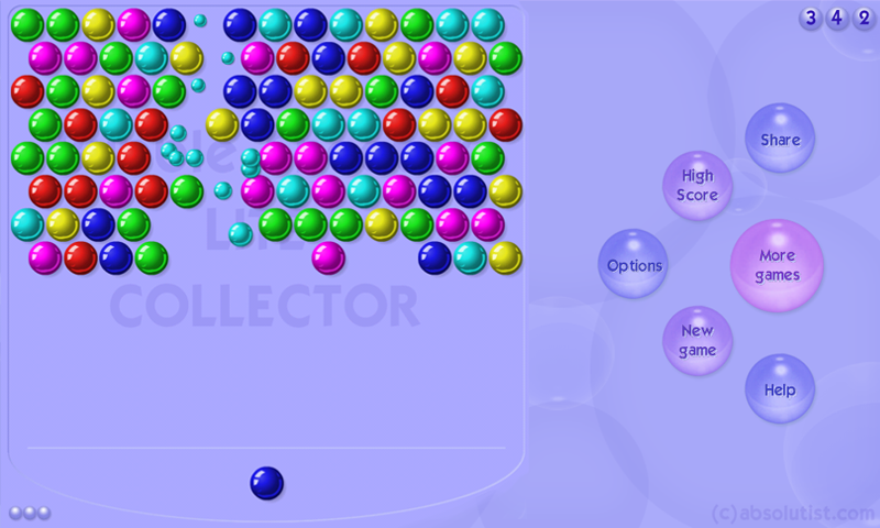 absolutist bubble shooter