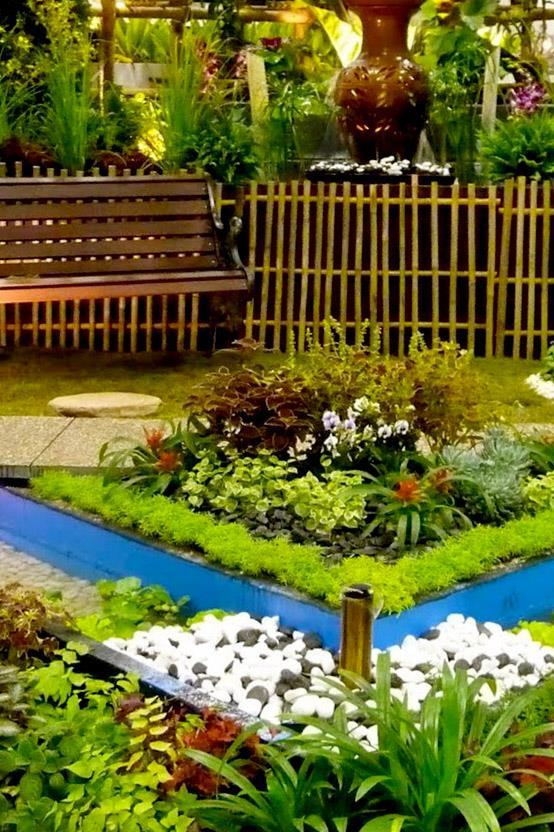garden design ideas screenshot - Brown Garden Design