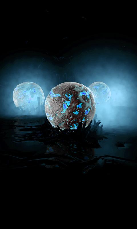 Alien Balls Live Wallpaper - screenshot
