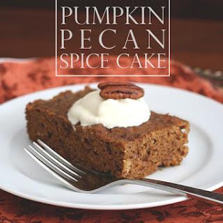 Slow Cooker Pumpkin Pecan Spice Cake