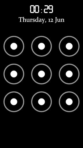 パターン画面ロック