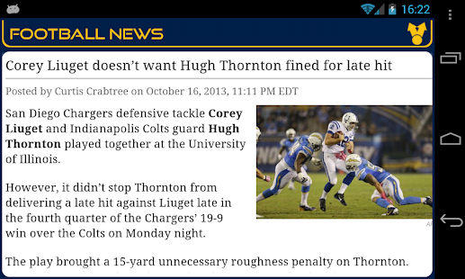 San Diego Football News- screenshot thumbnail