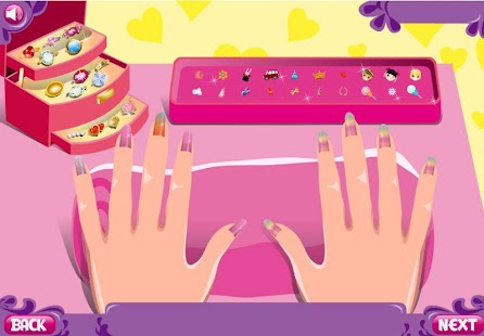 Nail Manicure Trendy Teenager