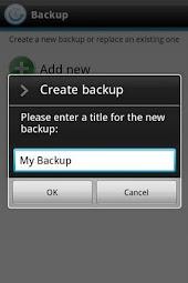 Dell™ Backup & Restore