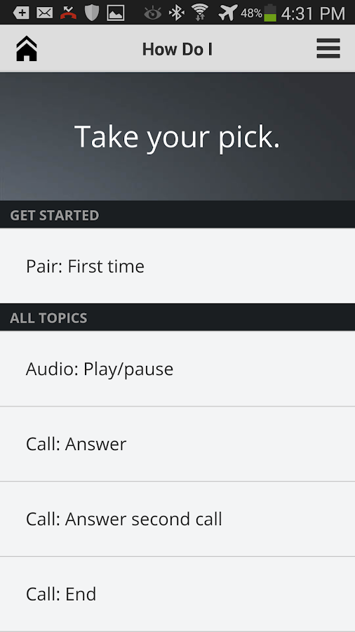 Plantronics Hub™ - screenshot