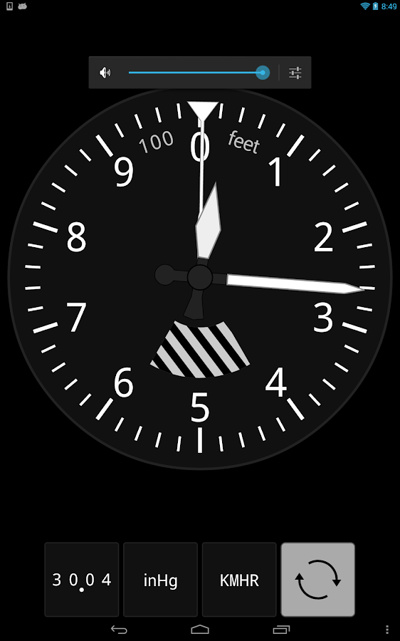 Sensitive Altimeter- screenshot