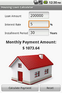 housing loan calculator apps on google play