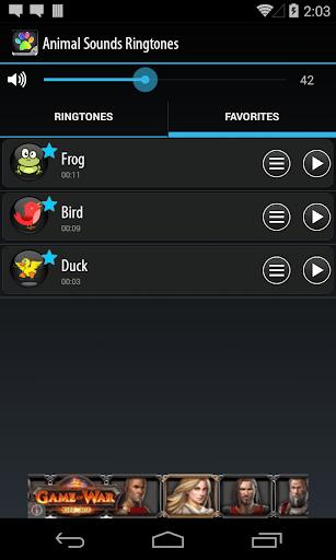 玩娛樂App|動物的聲音鈴聲免費|APP試玩
