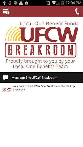 UFCW One Breakroom