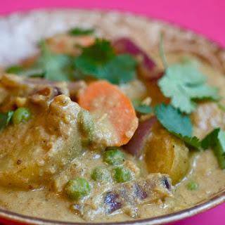 Cashew Vegetable Korma.