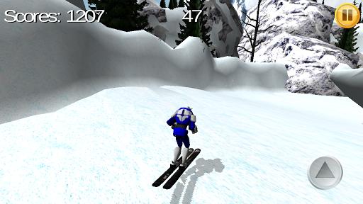 机器人滑雪板3D