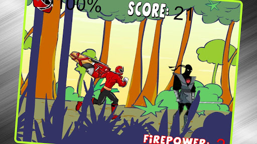 Super Hero Jungle War